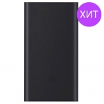 Внешний аккумулятор Xiaomi Mi 2S Power bank 10000mAh Black (VXN4229CN)