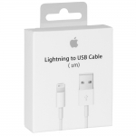 Кабель Apple Lightning to USB Cable (1 m) (MD818) (i6, Orig MFI, in box 1m)