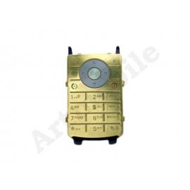 Клавиатура Motorola K1, золотистая, с русскими буквами