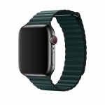 Ремешок 38/40mm Leather Loop Forest Green