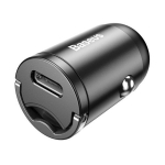 Автомобильное зарядное устройство Baseus Tiny Star Mini Quick Charge Car Charger USB P Grey (VCHX-A0G)