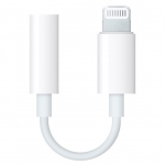 Адаптер Apple Lightning to 3.5mm Headphones (MMX62)