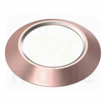 Защита на камеру Baseus Metal Lens Protection Ring Rose Gold для iPhone 7/8 (ACAPIPH7-RI0R)