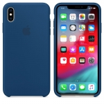 Чехол iPhone XS Max Silicone Case - Blue Horizon