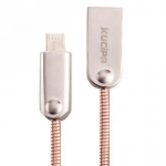 Кабель Kucipa K131-Micro 2в1 (Android/iOS) ROSE GOLD Lightning to USB